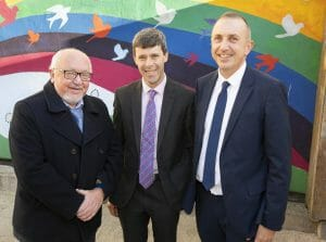 Eddie Matthews, Donal Cassidy and Tony Duffin